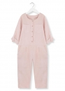 kids on the moon - playful Overall Leinen rose