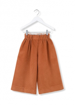 kids on the moon - Cord Culottes ginger