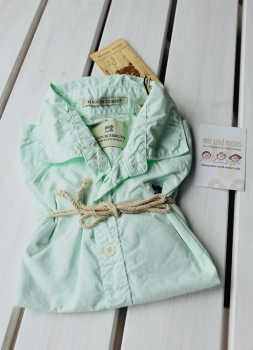 SCOTCH SHRUNK - Hemd aus leichtem Sommercotton mint