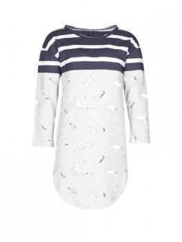 Kleid Mit Longshirt Streifen Mit Little10days Little10days Kleid Little10days Longshirt Streifen bgf67y
