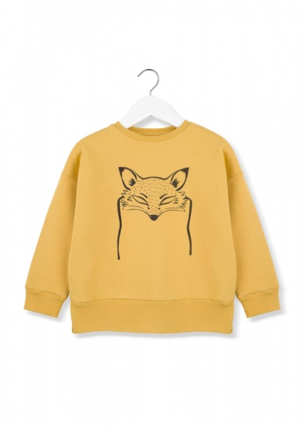 kids on the moon - Sweatshirt fox mask in vanille